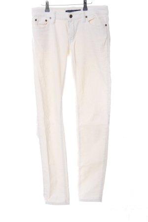 Ralph Lauren Sport Pantalón de pana blanco look casual