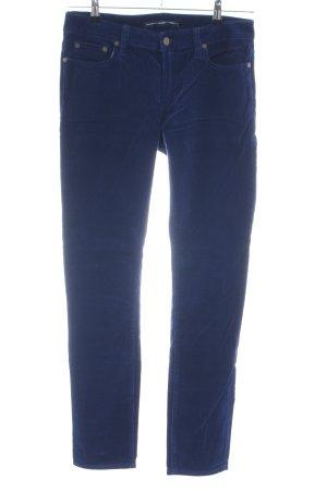 Ralph Lauren Sport Cordhose blau Casual-Look