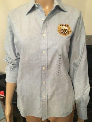 Ralph Lauren Sport Damen Hemd Blau Gr. US 10/ EUR 40 Medium Neu