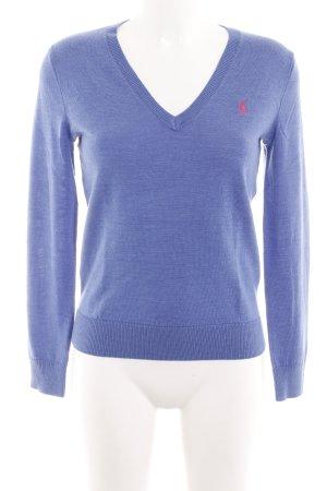 Ralph Lauren Sport Feinstrickpullunder blau Casual-Look