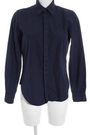 Ralph Lauren Sport Hemd-Bluse dunkelblau Business-Look