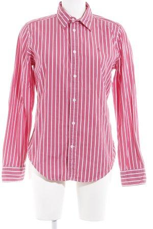 Ralph Lauren Sport Hemd-Bluse pink Streifenmuster Casual-Look