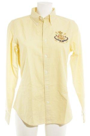 Ralph Lauren Sport Hemd-Bluse Schriftzug gestickt klassischer Stil