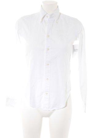 Ralph Lauren Sport Hemd-Bluse weiß Business-Look