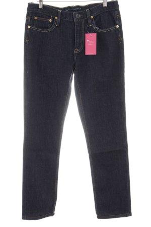 Ralph Lauren Sport High Waist Jeans dunkelblau Casual-Look