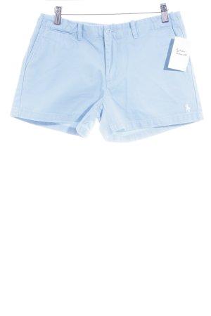 Ralph Lauren Sport High-Waist-Shorts hellblau Casual-Look