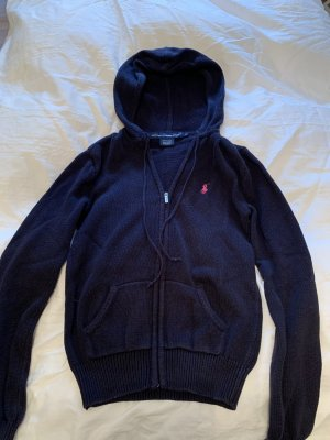 Ralph Lauren Sport College Jacket dark blue-neon pink