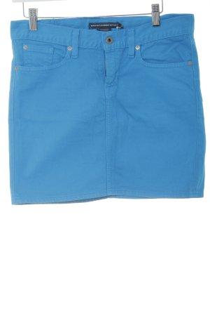 Ralph Lauren Sport Jeansrock neonblau extravaganter Stil