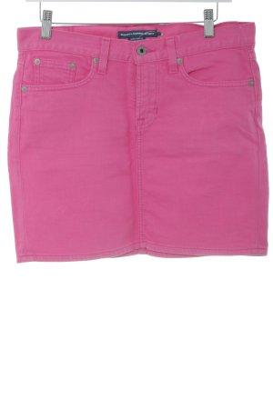Ralph Lauren Sport Jeansrock pink extravaganter Stil