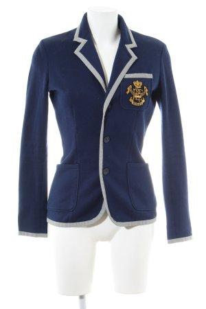 Ralph Lauren Sport Jersey Blazer blue business style