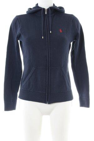 Ralph Lauren Sport Kapuzenjacke blau Casual-Look