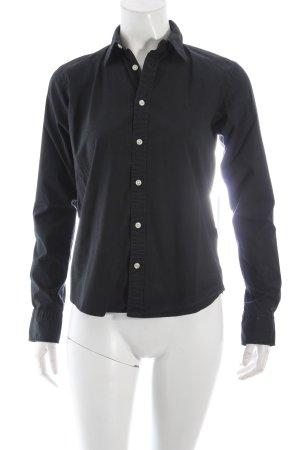 Ralph Lauren Sport Langarm-Bluse schwarz Casual-Look
