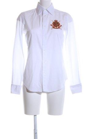 Ralph Lauren Sport Langarmhemd weiß Casual-Look