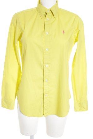 Ralph Lauren Sport Langarmhemd gelb Casual-Look
