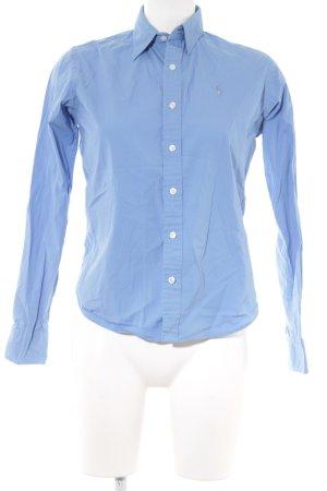Ralph Lauren Sport Langarmhemd kornblumenblau Business-Look