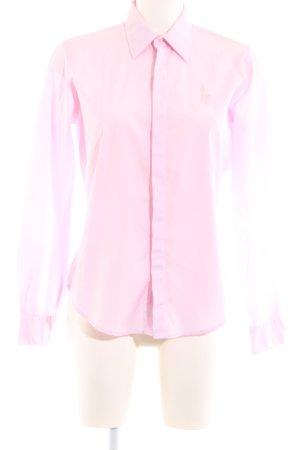 Ralph Lauren Sport Langarmhemd pink Business-Look