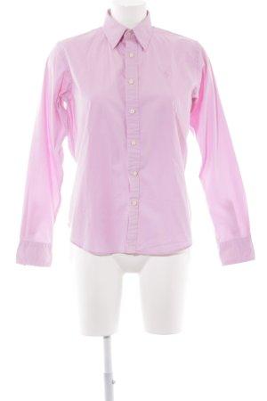 Ralph Lauren Sport Langarmhemd rosa Elegant