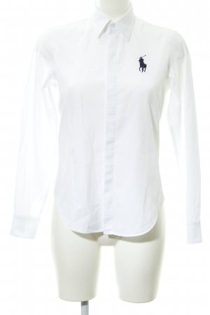 Ralph Lauren Sport Langarmhemd weiß Business-Look