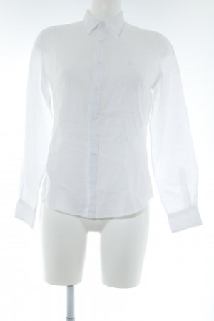 Ralph Lauren Sport Blouse en lin blanc style simple