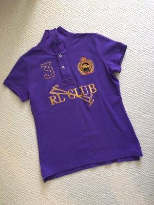 Ralph Lauren Sport Polo (lila, mit großer Stickerei)