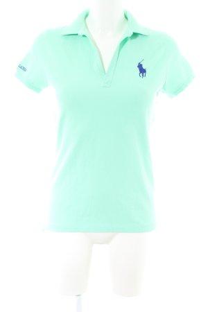 Ralph Lauren Sport Polo-Shirt türkis Casual-Look