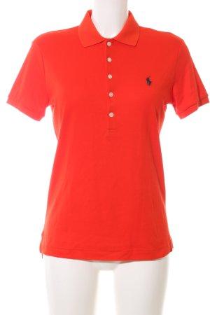 Ralph Lauren Sport Polo-Shirt rot Casual-Look