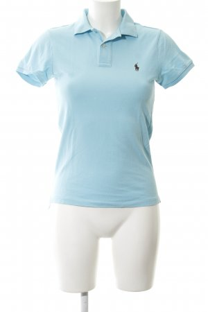 Ralph Lauren Sport Polo Shirt baby blue-light blue business style