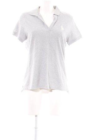 Ralph Lauren Sport Polo-Shirt hellgrau meliert Casual-Look