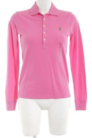 Ralph Lauren Sport Polo-Shirt pink Casual-Look