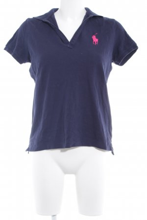 Ralph Lauren Sport Polo-Shirt dunkelblau Casual-Look