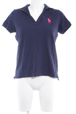 Ralph Lauren Sport Polo Shirt dark blue casual look