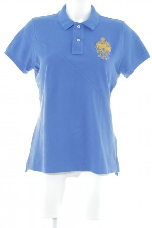 Ralph Lauren Sport Polo-Shirt neonblau Casual-Look