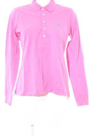 Ralph Lauren Sport Polo-Shirt pink schlichter Stil