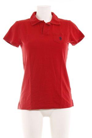 Ralph Lauren Sport Polo-Shirt rot sportlicher Stil