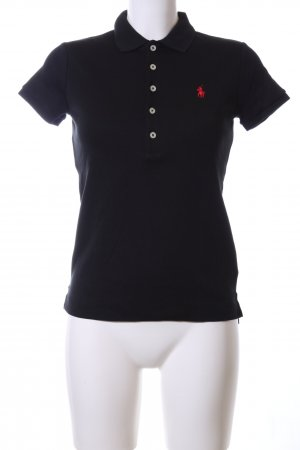 Ralph Lauren Sport Polo-Shirt schwarz Casual-Look