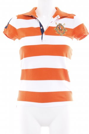 Ralph Lauren Sport Polo-Shirt Streifenmuster sportlicher Stil