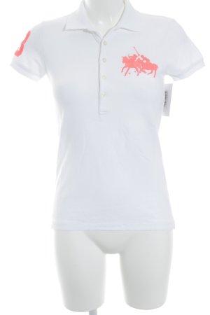 Ralph Lauren Sport Polo-Shirt weiß sportlicher Stil