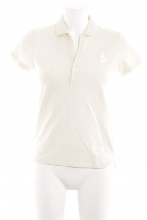 Ralph Lauren Sport Polo-Shirt wollweiß Casual-Look