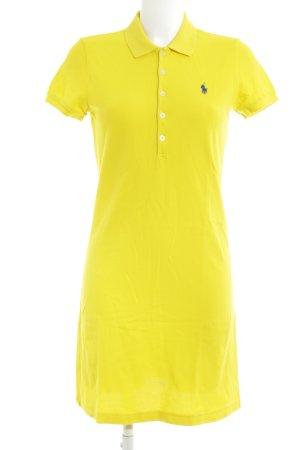 Ralph Lauren Sport Polo Dress yellow athletic style