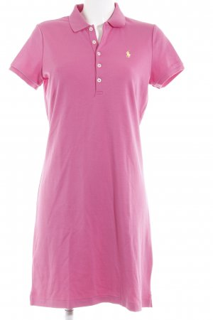 Ralph Lauren Sport Polo Dress raspberry-red casual look