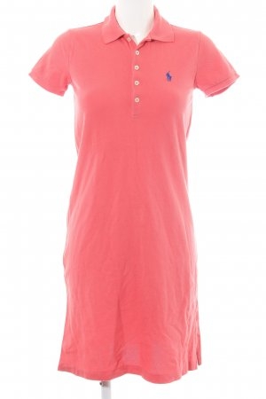 Ralph Lauren Sport Polo Dress pink casual look