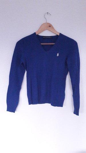Ralph Lauren Sport Pullover Pulli Jumper Knit Feinstrick Polo Pferd M