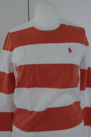 Polo Ralph Lauren Pull sans manches blanc-orange