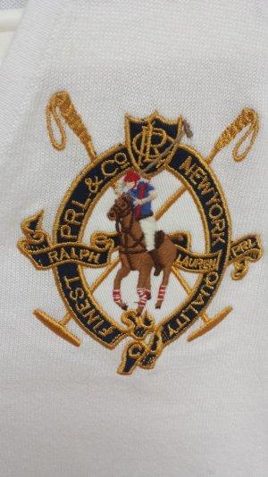 Ralph Lauren Sport Pullover V-Ausschnitt mit großem Emblem