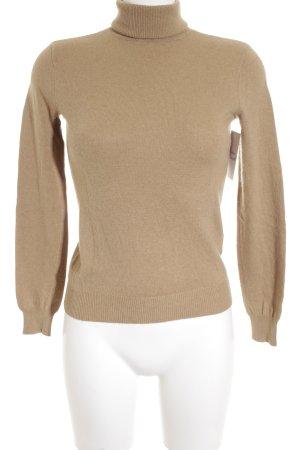 Ralph Lauren Sport Rollkragenpullover beige Casual-Look