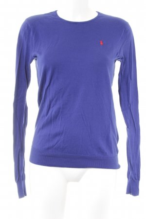 Ralph Lauren Sport Rundhalspullover blau schlichter Stil
