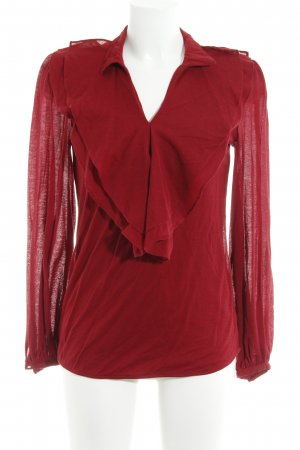 Ralph Lauren Sport Slip-over blouse donkerrood casual uitstraling