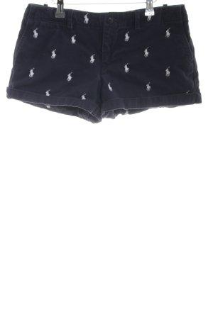 Ralph Lauren Sport Short zwart-wit casual uitstraling