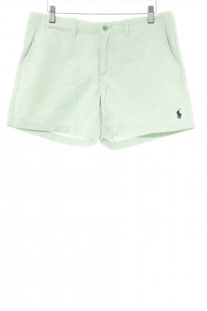 Ralph Lauren Sport Shorts mint Boyfriend-Look