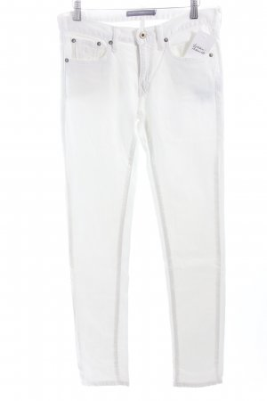 Ralph Lauren Sport Skinny Jeans weiß Logostickerei